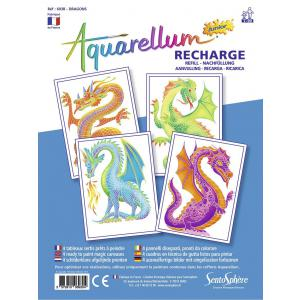 Sentosphère - 693R - recharge aquarellum junior dragons (304658)