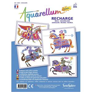 Sentosphère - 695R - recharge aquarellum junior chevaliers (304660)