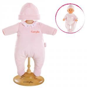 Corolle - DMV00 - Pyjama rose pour bébé 30 cm à partir de 18 mois (305414)