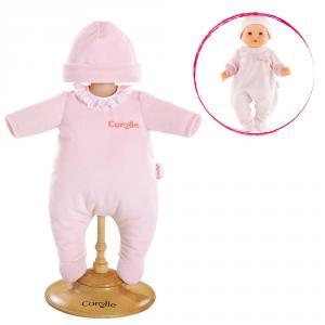 Corolle - DMV01 - Pyjama rose  pour bébé 36 cm à partir de 2 ans (305458)