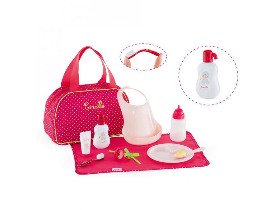 Accessoires Bebe : Corolle grand coffret accessoires bébé cerise à partir