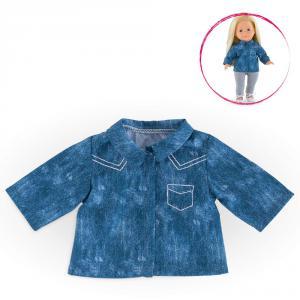 Corolle - DPB78 - Ma Chérie chemise bleue - taille 36 cm - âge : 4+ (305510)