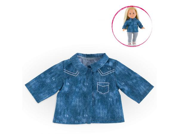 Ma corolle chemise bleue - taille 36 cm - âge : 4+