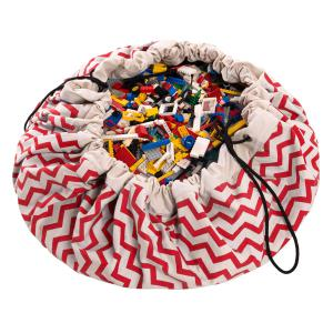 Play and Go - 79962 - Sac de rangement zigzag-red (305638)