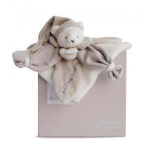 Doudou et compagnie - DC2922 - Collector ours taupe - 24 cm - boîte cadeau (305768)