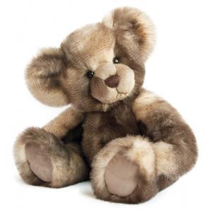 Histoire d'ours - HO2621 - Peluche Panache taupe - ours 40 cm (305900)