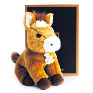 Histoire d'ours - HO2602 - Peluche Les authentiques - cheval 20 cm (305920)