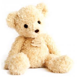 Histoire d'ours - HO2618 - Peluche Ours  chiné pantin- beige 35 cm (305940)