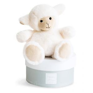 Histoire d'ours - HO2579 - Peluche Boulidoux - agneau mm 25 cm (305944)