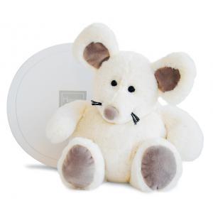 Histoire d'ours - HO2584 - Boulidoux - souris grand modèle - 35 cm - boîte cadeau (305952)