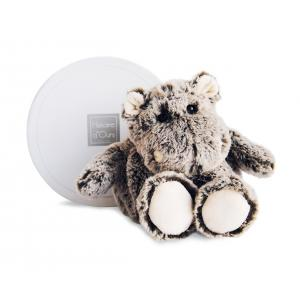 Histoire d'ours - HO2575 - Peluche Boulidoux - hippo pm 20 cm (305966)
