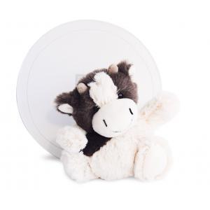 Histoire d'ours - HO2576 - Boulidoux - vache petit modèle - 20 cm - boîte cadeau (305970)