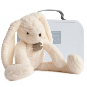 Histoire d'ours - HO2636 - Peluche Sweety couture - lapin blanc mm 38 cm (305982)