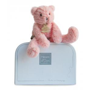 Histoire d'ours - HO2646 - Peluche Sweety couture - chat rose pm 24 cm (305992)