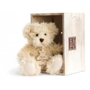Histoire d'ours - HO2606 - Peluche Ours chiné - beige 10 cm  (306010)