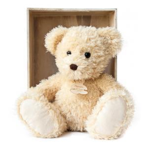 Histoire d'ours - HO2614 - Peluche Ours chiné - beige 22 cm 22 cm (306014)