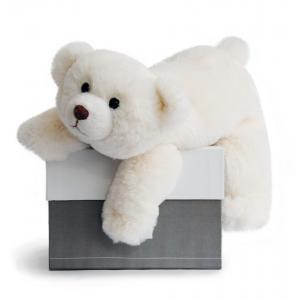 Histoire d'ours - HO2567 - Peluche Snow - ours polaire 30 cm 30 cm (306038)