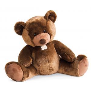 Histoire d'ours - HO2664 - Peluche Bel'ours marron 90cm - nouvelle matière 90 cm (306048)