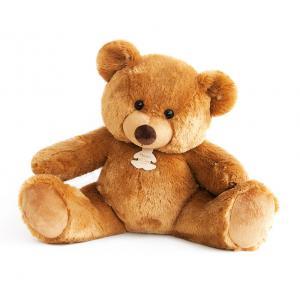 Histoire d'ours - HO2671 - Peluche Bel'ours miel 80cm - nouvelle matière  (306054)