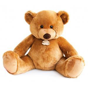Histoire d'ours - HO2673 - Peluche Bel'ours miel 130cm - nouvelle matière 130 cm (306058)