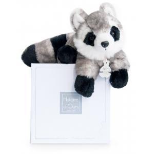 Histoire d'ours - HO2544 - Raton laveur - 20 cm - boîte cadeau (306086)