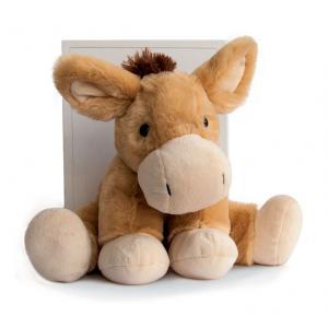 Histoire d'ours - HO2547 - Peluche Cheval beige 25 cm (306090)