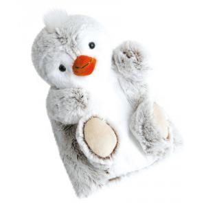 Histoire d'ours - HO2591 - Douce marionnette - pingouin 25 cm (306120)