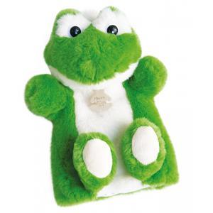 Histoire d'ours - HO2593 - Douce marionnette - grenouille 25 cm (306122)