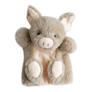 Histoire d'ours - HO2598 - Douce marionnette - cochon 25 cm (306126)