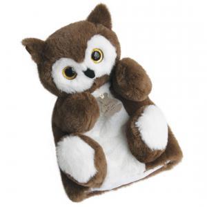 Histoire d'ours - HO2590 - Douce marionnette - chouette - taille 25 cm (306130)