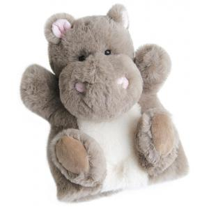 Histoire d'ours - HO2592 - Douce marionnette - hippo 25 cm (306132)