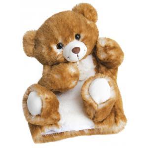Histoire d'ours - HO2596 - Douce marionnette - ours 25 cm (306136)