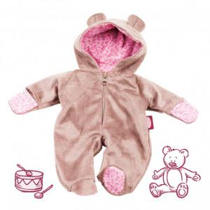 Gotz - 3402670 - Onesie, Teddy pour poupées de 45-50cm (306162)