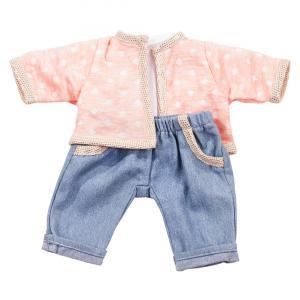 Gotz - 3402666 - Ensemble glamour jean bébé 42-46cm (306172)