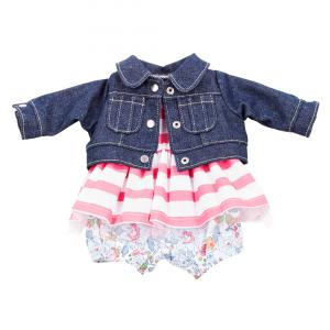 Gotz - 3402659 - Combi jean vacances bébé 30-33cm (306184)