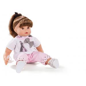 Gotz - 1627182 - Bébé 42 cm Maxy Muffin, ladies&spots, cheveux châtains (306220)