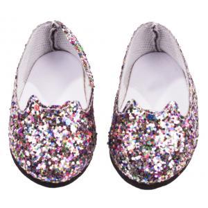 Gotz - 3402715 - Chaussures ballerina, chat à paillettes (306282)