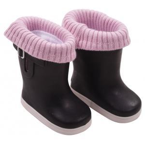 Gotz - 3402720 - Bottes de pluie, rebords tricotés (306290)