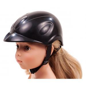Gotz - 3402721 - Casque cavalière, Black Beauty, 42/50 cm (306292)