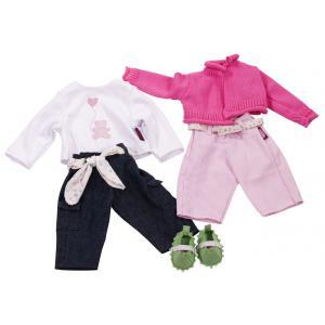 Gotz - 3402734 - Vêtement Set casual pour bébés de 42-46cm (306300)