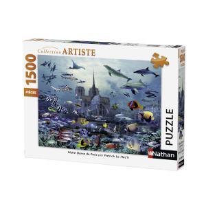 Nathan puzzles - 87773 - Puzzle 1500 pièces - Notre Dame de Paris (306316)