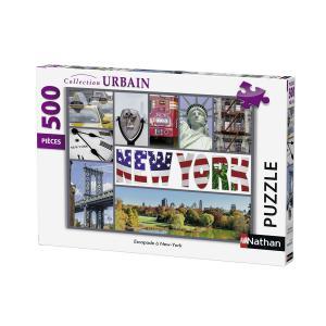 Nathan puzzles - 87229 - Puzzle 500 pièces - Escapade à New-York (306328)