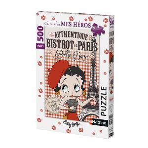 Nathan puzzles - 87232 - Puzzle 500 pièces - Betty Boop à Paris (306332)