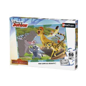 Nathan puzzles - 86572 - Puzzle 60 pièces - La garde du roi / La Garde du Roi Lion (306354)