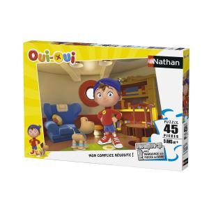 Nathan puzzles - 86461 - Puzzle 45 pièces - Dans la maison de Oui-Oui (306364)