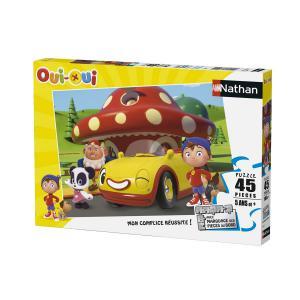 Nathan puzzles - 86460 - Puzzle 45 pièces - Bienvenue chez Potiron / Oui-Oui (306366)
