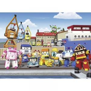 Nathan puzzles - 86453 - Puzzle 45 pièces - Les habitants de Vroum Ville / Robocar Poli (306368)