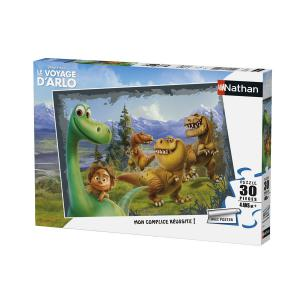 Nathan puzzles - 86345 - Puzzle 30 pièces - Arlo et ses amis / Le voyage d'Arlo (306370)