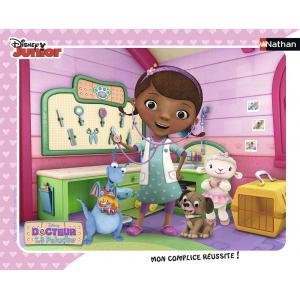Nathan puzzles - 86057 - Puzzle cadre 35 pièces - La clinique de Dottie / Doc la peluche (306378)