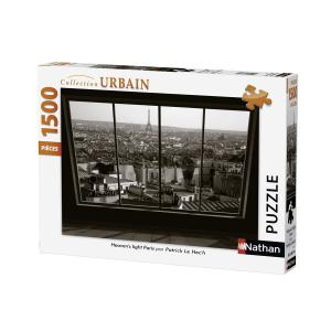 Nathan puzzles - 87775 - Puzzle 1500 pièces - Heaven's light Paris (306386)